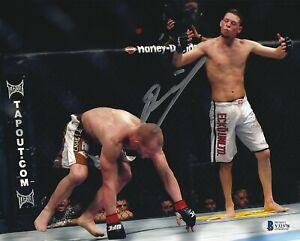 Nate Diaz Signed 8x10 Photo BAS Beckett COA UFC WEC TUF Legend Picture Autograph