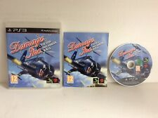 Damage Inc PS3 Playstation 3 Pacific Squadron WWII - With Manual - Free Postage