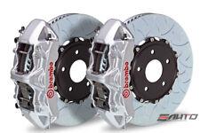 Brembo Front GT Big Brake 6pot Caliper Silver 380x32 Type3 Disc Camaro V6 10-14