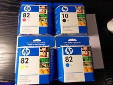 4 x Original Ink HP DesignJet 500 800 / C4844A C4911A C4912A C4913A je 69ml