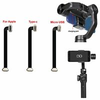 Micro USB/Type-C/iPhone Charging Cable For Zhiyun Smooth 4 with iPhone Samsung