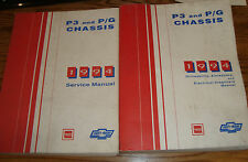 1994 Chevrolet GMC P3 P/G Chassis Shop Service Manual + Electrical 94 Motorhome