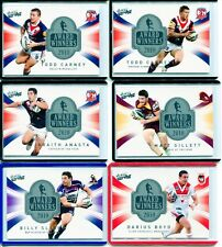 2011 NRL SELECT STRIKE AWARDS WINNERS CARD SET ALL NUMBERED 3/400 LOW NUMBERED