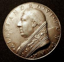 Vaticano, alexander constitucionales, bronce fundido medalla 1492, a su ordination, RR!