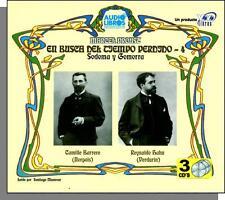 Marcel Proust: En Busca Del Tiempo Perdido #4- New Audio Book in Spanish 3 CDs!