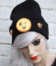 Souriant biscuit bonnet street wear pastel goth cyber kawaii indie beanie
