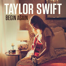 "TAYLOR SWIFT - Limited Edition Numbered ""BEGIN AGAIN"" CD Single SEALED - RARE!!!"