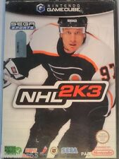 NHL 2K3 GAME CUBE NHL 2K3 NINTENDO GAMECUBE
