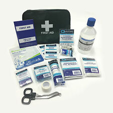 QUALICARE MEDIUM TRAVEL IN CAR BAG POUCH PREMIUM CAMPING EMERGENCY FIRST AID KIT