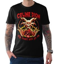 Celine Dione My Heart Will Go On T-Shirt, Funny Death Metal, Men's Women's Sizes