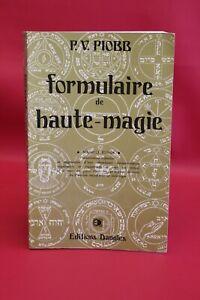 Formulaire de haute-magie - P.-V. Piobb - Livre grand format - Occasion