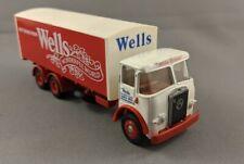 EFE 12501 Wells Drinks Box Van Diecast Model - 00 Gauge 1/76 Scale