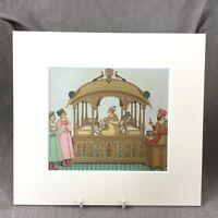 Antico Stampa Indiano Moghul Empire Costume Moda Raro Francese Art Originale