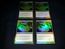 MTG 1x 9th Edition green uncommon German FOIL Summer Bloom ships w/ tracking