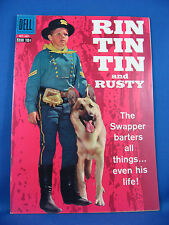 RIN TIN TIN 27 NM- Photo Cover 1958 German Shepherd