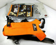 Sleepypod Clickit Seat Belt Dog Safety Car Harness Orange Size XS Extra Small