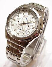 Casio EF-328D-7 Edifice Men's Analog White Watch Brand New 100% Original NIB
