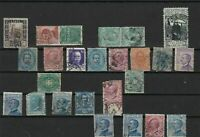 italy stamps some faults ref r11654