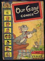Our Gang Comics #38 ORIGINAL Vintage 1947 Dell Golden Age Tom & Jerry