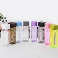 500ml Tea Infuser Water Bottle BPA-free Plastic Healthy Portable Travel Sports