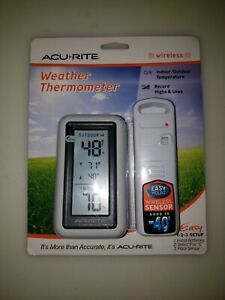 AcuRite Wireless Weather Thermometer Indoor/Outdoor Temperature Brand New