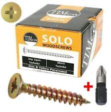 Timco Solo Woodscrew Pz2 CSK - ZYP Range 40030SOLOC
