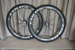 Pair of Cole C50 Lite wheels  Cole C24 Lite 700C Clincher Wheel