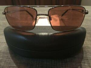 Serengeti Dante Sunglasses 7114 Shiny Espresso  Photo Drivers Mint Collectible