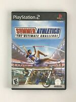 Summer Athletics: The Ultimate Challenge - Playstation 2 PS2 Game - Complete