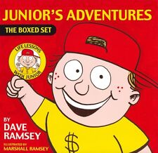 Junior's Adventures-Box Set 6 books by Dave Ramsey (2005, Paperback)  kids money