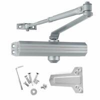 Med/Heavy Duty Grade 1 Commercial Cast Aluminum Door Closer Norton 1600 Footprin