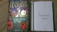 Signed Charlaine Harris Dead Ever After Sookie Novel 1/1 HC DJ Book True Blood