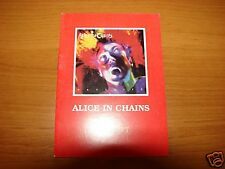 pocket book w. lirycs Alice In Chains Facelift