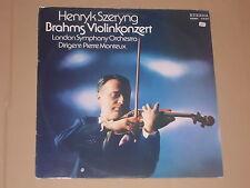 HENRYK SZERYNG -Brahms Violinkonzert- London Symphony Orchestra LP Eterna