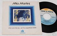 """MIA MARTINI:7""""-CHE VUOI CHE SIA SE..ORIGINALE 1976 EX+"""