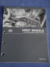 new  Harley Davidson vrod v-rod v rod parts catalog manual 2004 vrsc    99457-05