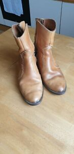 Levi Strauss & Co Leather Ankle/cowboy boots Size 8