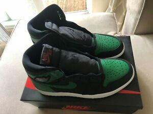 jordan 1 high pine green black 555088030 size 4.5 to 8.5
