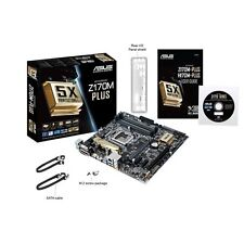 ASUS Z170M-Plus Motherboard, LGA 1151, DDR4, Micro ATX, M.2 Support, Intel Z170