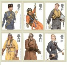 GB POSTCARDS PHQ CARDS MINT FULL SET 2008 RAF UNIFORMS PACK 314