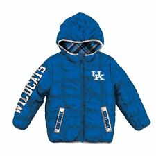 "Kentucky Wildcats ""PUFFY"" ncaa WINTER Jacket Jersey YOUTH KIDS BOYS (S-SMALL)"