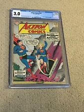New ListingAction Comics 252 Cgc 3.0 Ow Pages (1st app of Supergirl-1959) Cgc #001 + magnet