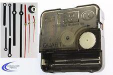 Profi Quartz Uhrwerk mit 3 Zeigersätzen aus Alu - Quartzuhr mit Zeiger im Set -