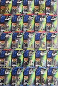 star wars POWER OF THE FORCE potf FREEZE FRAME FLASHBACK COMMTECH action figure