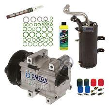 AC Compressor KIT Fit 1999 - 2003 F250 F350 F450 F550 V8 7.3L Turbocharge Diesel