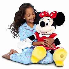 "DISNEY PARKS JUMBO Red Minnie Mouse 27"" inch Plush Doll NEW JUMBO"