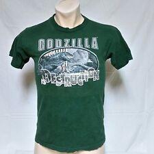 VTG 1998 Godzilla T Shirt Movie 90s King Kong Cinema Tee Japan Television Large