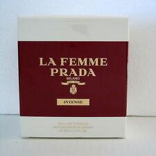 PRADA La Femme Intense 100ml Eau de Parfum Spray Nuovo In Pellicola