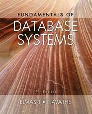 Fundamentals of Database Systems by Ramez Elmasri: Used