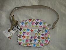 New Kipling HB6468-983 Keefe Houndstooth Crossbody Bag - Multicolor